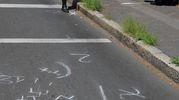 Incidente in via Zante a Milano (Newpress)