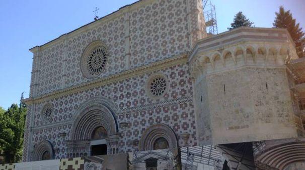 Viaggio nel centro storico dell'Aquila