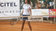 Raffaella Fico in campo (foto Corelli)