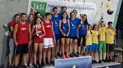 sul podio al primo posto il Team Carchidio-Strocchi