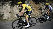 Chris Froome In azione (Afp)