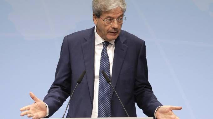 Il primo ministro Paolo Gentiloni (Ansa)