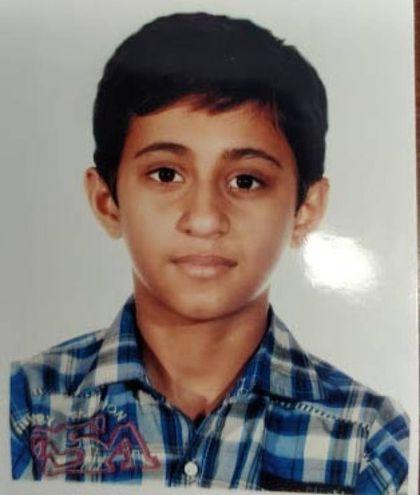 Hassnain Alì, 13 anni (foto Lecci)