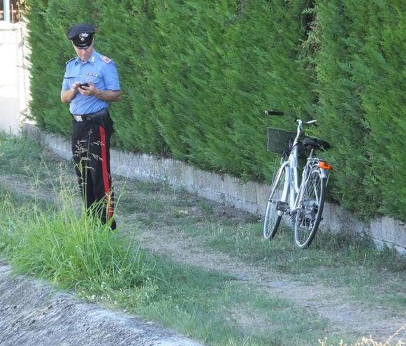 La bici di Hassnain Alì (foto Lecci)