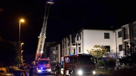 Incendio in via Gobetti (Novi)