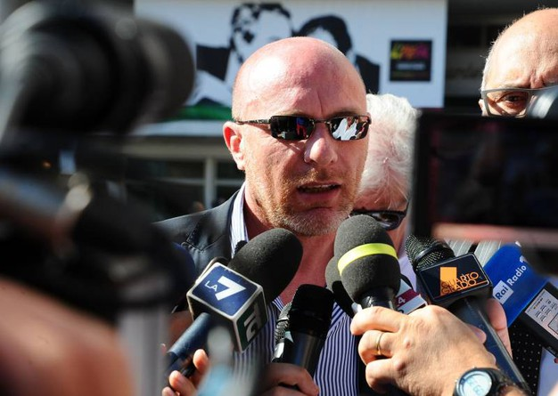 Paolo Camporini, avvocato di Massimo Bossetti (LaPresse)