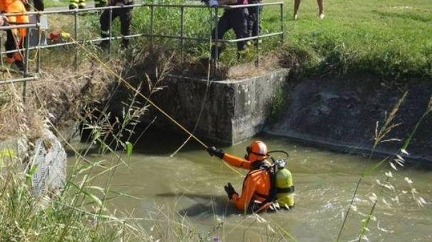Ritrovato cadavere a Suzzara (Foto Lecci)