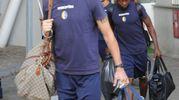 Modena, i gialloblù in partenza per il ritiro di Fanano (Foto Fiocchi