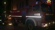 I vigili del fuoco hanno lavorato per ore