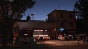 Sul posto anche i carabinieri della stazione di Bazzano