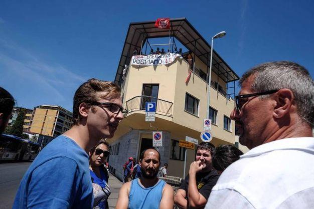 Edificio occupato  (Tania Bucci  / New  Press Photo)