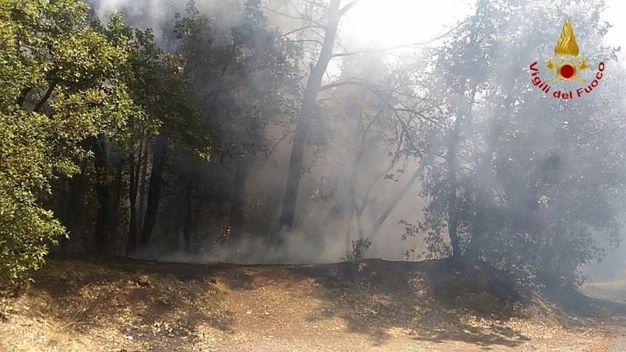 Le fasi di spegnimento dell'incendio