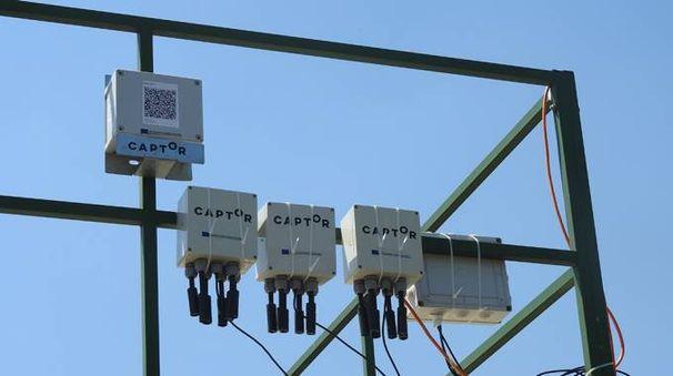 Centraline per rilevare l'inquinamento da ozono