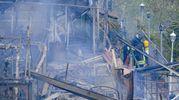 Incendi a Posillipo (Ansa)