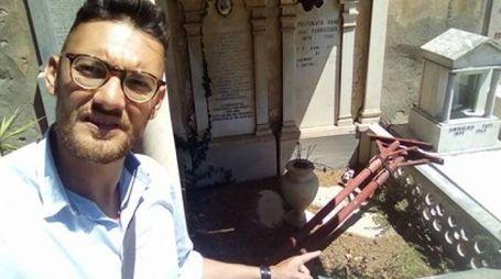 Ecco le condizioni in cui versa il cimitero di Rosignano Marittimo