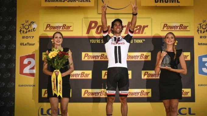 Tour de France 2017, bis di Michael Matthews (Afp)