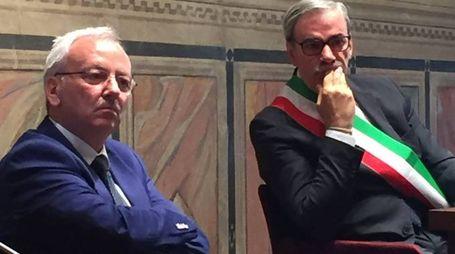 Il Prefetto con il sindaco