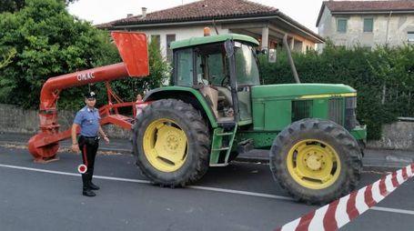 Malore su un trattore