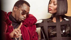 "Naomi Campbell con Sean ""Diddy"" Combs"