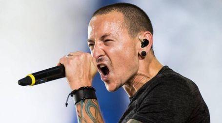 Chester Bennington, cantante dei Linkin Park (Ansa)