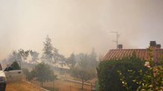 Incendio a Piancastagnaio, fiamme vicine alle case