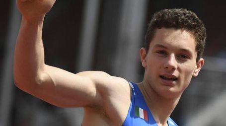 Filippo Tortu oro nei 100 m. agli Europei Under 20 (Ansa)