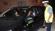 I vigili urbani hanno acciuffato gli automobilisti fuggiti