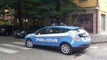 Controlli della polizia in Viale Gramsci (foto Fiocchi)
