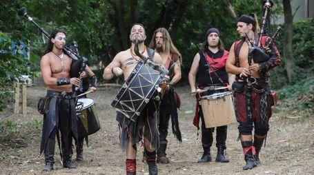 Storia e tradizione si intrecciano nel fine settimana del Bundan Celtic Festival (foto Samaritani)