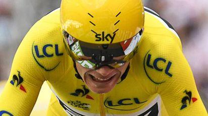 Tour de France 2017, Chris Froome è il re (Afp)