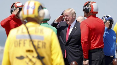Il presidente statunitense Donald Trump (Ansa)