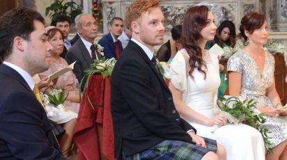Sean Newton e Daniela De Lucia in Duomo