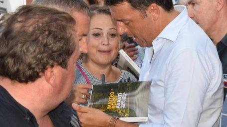 Renzi a Poggibonsi (Foto Lucii)