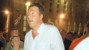 Matteo Renzi alla Festa dell'Unità a Castelfiorentino (foto Gianni Nucci/Germogli)