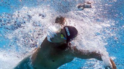Modnaili di nuoto di Budapest, Gabriele Detti medaglia di bronzo nei 400 stile (Afp)