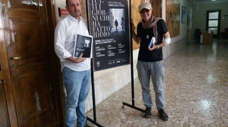 da sinistra il vice sindaco Daniele Vimini e il direttore artistico Giuseppe Saponara