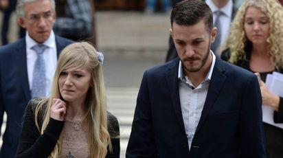 Charlie Gard, i genitori arrivano all'Alta Corte di Londra (Afp)