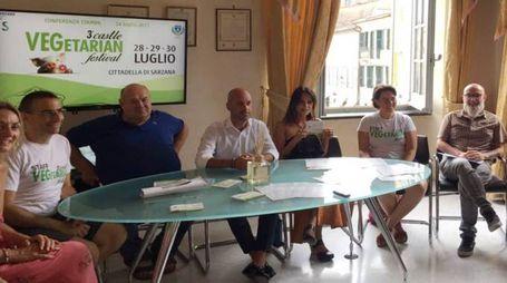 EVENTO La presentazione in municipio del festival vegetariano che si svolgerà nel fine settimana in Cittadella