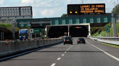 Un tratto già realizzato dell'autostrada