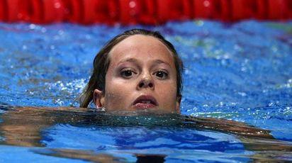 Federica Pellegrini ai Mondiali di nuoto 2017 (Afp)