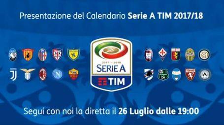 Presentazione del calendario di Serie A Tim (Twitter)
