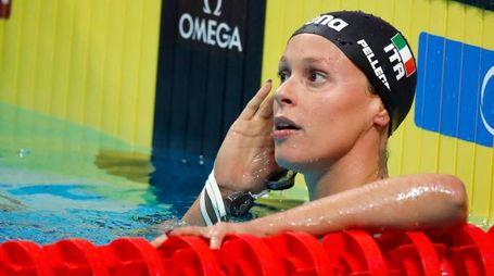 Mondiali di nuoto 2017, Pellegrini in finale (LaPresse)
