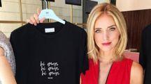 Chiara Ferragni nel suo nuovo negozio a Milano (Instagram)