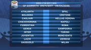 Calendario Serie A 2017-2018 (Twitter@SerieA_TIM)2018