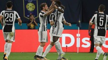 Juve-Psg, Marchisio celebra il gol (Afp)