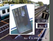 Frame video del capotreno