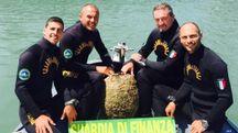 Il Nucleo sommozzatori della Stazione Navale della Guardia di Finanza di Rimini