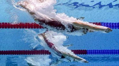 Mondiali di nuoto 2017, Federica Pellegrini nei 100 stile (Afp)