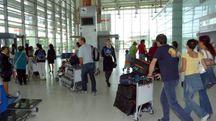 L'aeroporto di Falconara (foto d'archivio)