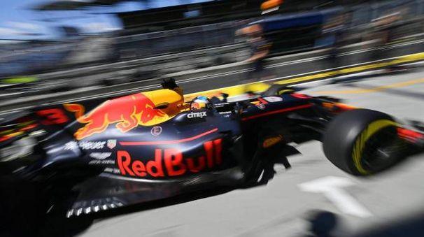 La Red Bull di Daniel Ricciardo (Ansa)